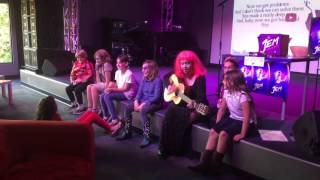 Best Day of My Life Youth Music Project - October 14, 2015 - Jem and the Holograms Costume Karaoke