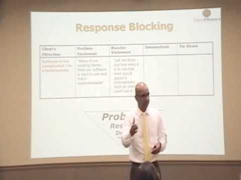 Blocking Objections beats Overcoming Objections?