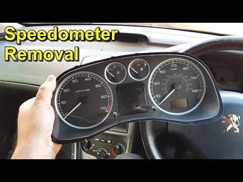 How to Replace the Instrument Panel (Speedometer) on a Peugeot 307