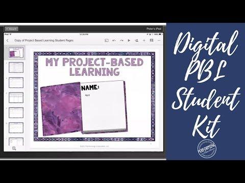 Digital Project-Based Learning Kit