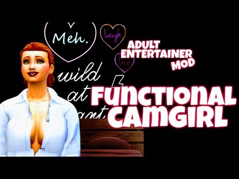 FUNCTIONAL CAMGIRL MOD | WORKS WITH WICKED WHIMS | THE SIMS 4 MOD SHOWCASE