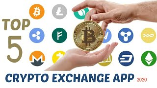 Best Cryptocurrency exchange apps | Top 5 crypto wallet | April 2020