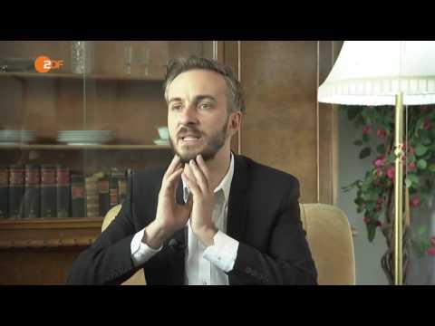 Interview Jan Böhmermann ist zurück (12.05.2016 ZDF-Mittagsmagazin)