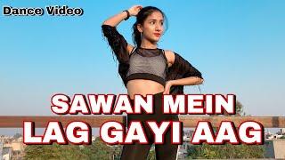 Sawan Mein Lag Gayi Aag | Dance Video | Ginny Weds Sunny | Mika , Neha , Badshah | Muskan Kalra