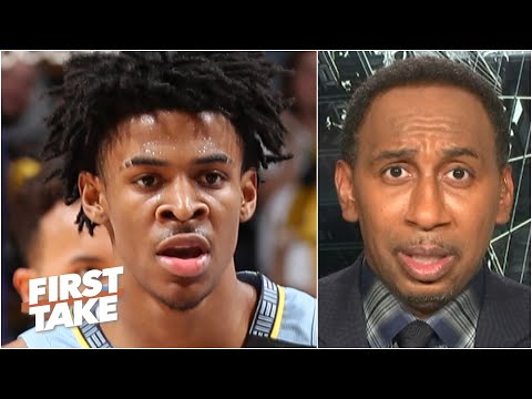 Stephen A. predicts Ja Morant & the Grizzlies will miss the playoffs | First Take