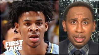 Stephen A. predicts Ja Morant & the Grizzlies will miss the playoffs   First Take