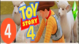 بو اللمحة الأغنام   [4]{Sims 4 Toy story 4 : السلسلة}
