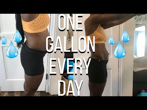 I Drank a Gallon of Water a Day | Shocking 1 Week Results