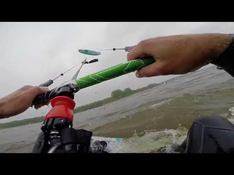 GoPro full raw footage FlySurfer Soul 12m Strand Horst The Netherlands