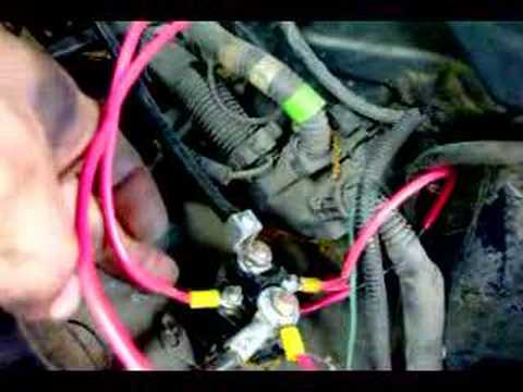 6 2 diesel manual glow controller 77 Ford Alternator Wiring Diagram
