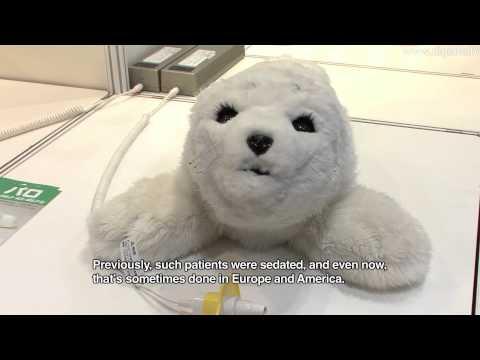 Cute Baby Seal Robot - PARO Theraputic Robot #DigInfo