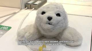 Cute Baby Seal Robot - PARO Theraputic Robot #DigInfo
