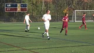 AB Soccer VS Concord Carlisle 10/27/17