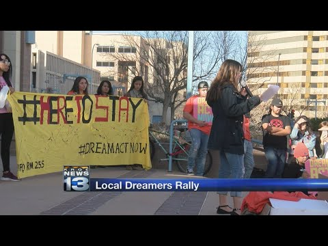 Local immigrants rally at Civic Plaza to urge Congress to deliver DREAM Act
