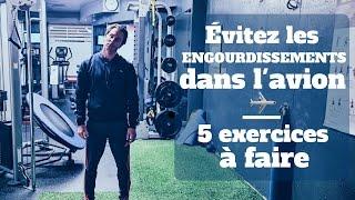 5 exercices simples pour éviter les engourdissements dans l'avion ✈️
