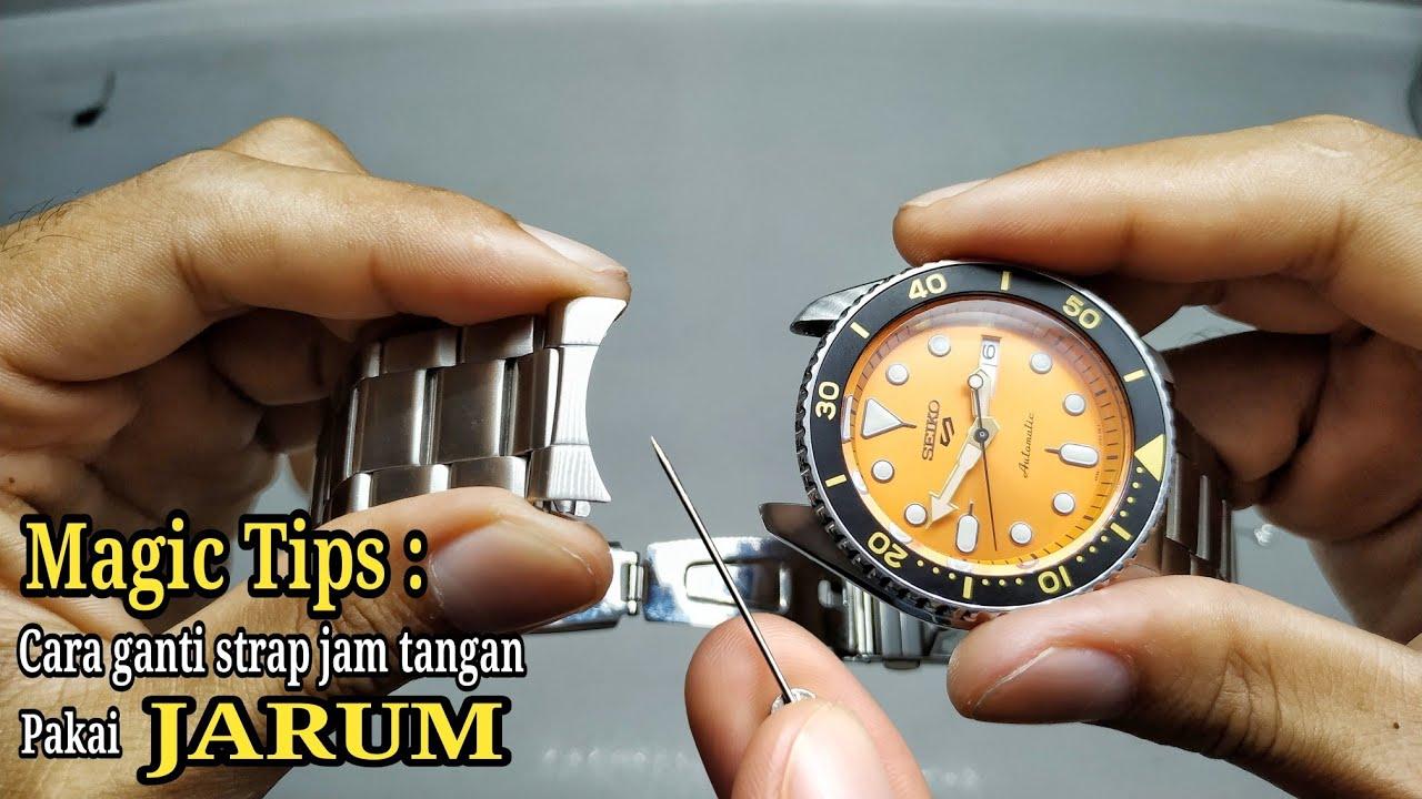 Magic Tips : Cara ganti strap jam tangan pakai JARUM