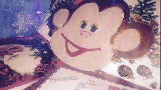видео Поделка обезьянка, идеи на Новый год 2016