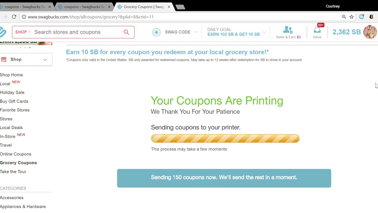 Swagbucks Coupon Prints Swagbucks Customer Support Ticket Status