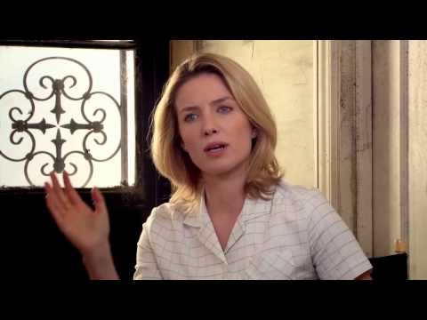 "Annabelle: Annabelle Wallis ""Mia"" Behind the Scenes Movie Interview"