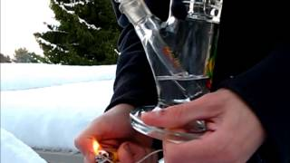 Snow Filled Bong Rips!