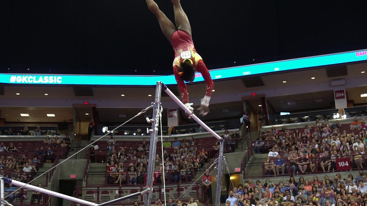 5f963e2a965a Simone Biles - Uneven Bars - 2018 GK U.S. Classic - Senior Competition. USA  Gymnastics