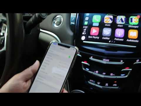 JoyeAuto Cadillac XTS ATS SRX CTS XT5 Wifi Wireless Apple CarPlay Retrofit