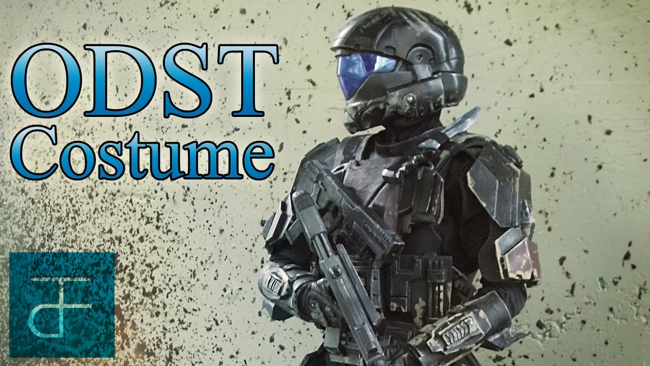& HALO: ODST Costume Armor BTS - EVA Foam - YouTube