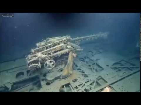 Exploring the Wreck Of German U-boat U-166 - YouTube