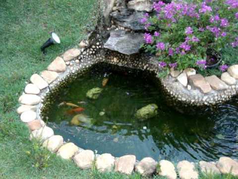 Represa de casa youtube for Como criar carpas en estanques
