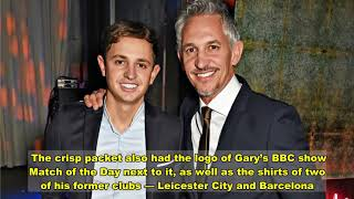 Gary Lineker gifted Walĸers crisp CAKE from his sons for his 60th birthday