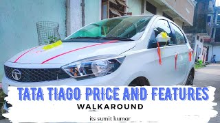 Tata Tiago xz petrol 2019 varient | walk-around, Design, Build quality, Price | itsumitkumar 2019