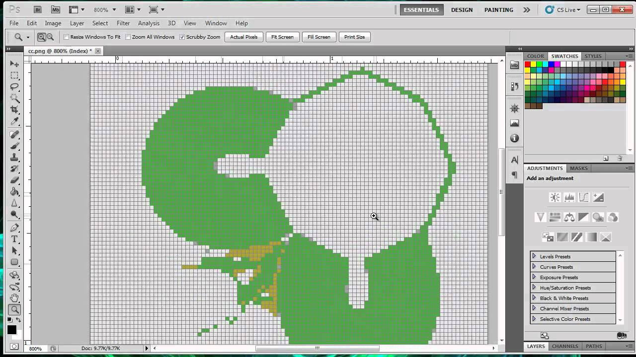 How to make a Pixel Art Template for Minecraft – Minecraft Pixel Art Template