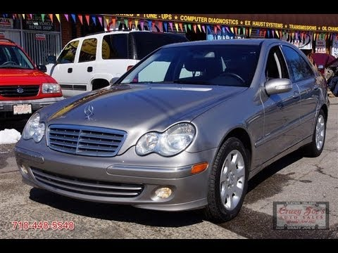 2004 mercedes benz c320 4matic sedan youtube for Mercedes benz c320