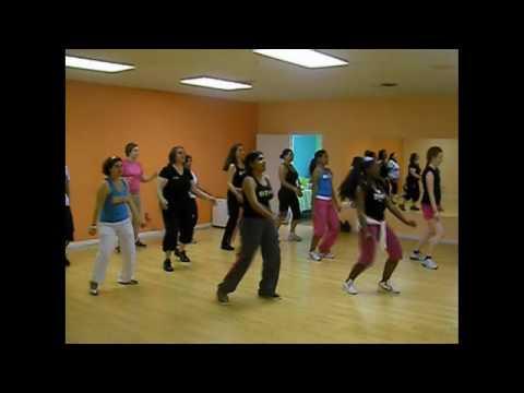 """Shake Fitness/Zumba Classes """"Waka Waka"""" for Shakira's 1Goal"""