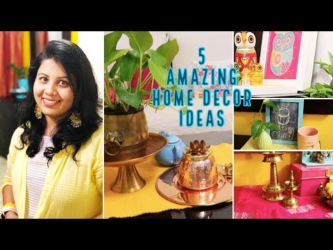 5 AMAZING HOME DECOR IDEAS | Cool & Easy Indian Home Decor Organization & Tips | Maitreyee's Passion