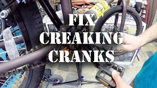 How to Fix Creaking BMX Cranks @ Harvester Bikes