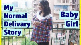 MY LABOR & NORMAL DELIVERY STORY   BABY Delivery Vlog Video   INDIAN MOM ON DUTY