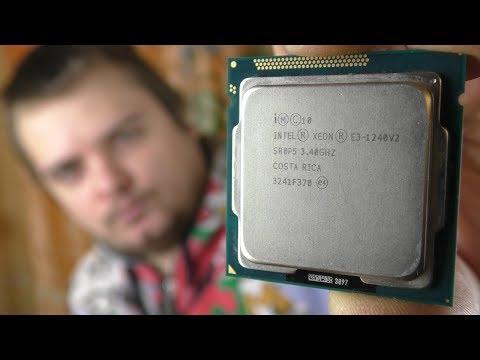 Лучший проце��ор � Aliexpress за 5000 рублей / Xeon E3-1240V2