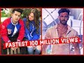Top 20 Fastest Indian/Bollywood Songs to Reach 100 Million Views on Youtube