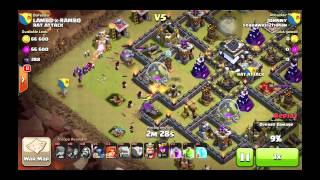 Th9 War base anti gowiwi/gowipe/gowiwipe/hog
