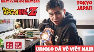BST Dragon Ball Z quá 🔥Hot🔥 của UNIQLO UT   VIETNAM 🇻🇳 khai trương cửa hàng lớn nhất ĐNA