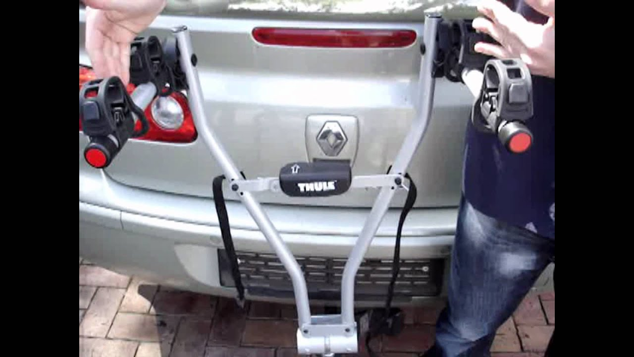 Cycle Lab - Thule Xpress 2 bike carrier - YouTube