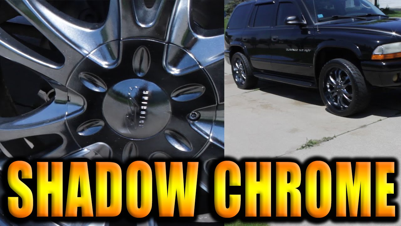 Dupli Color Shadow Chrome Black Out Example