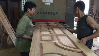 Woodworking Technology Modern - How To Making Bedroom Door Extremely Simple And Beautiful