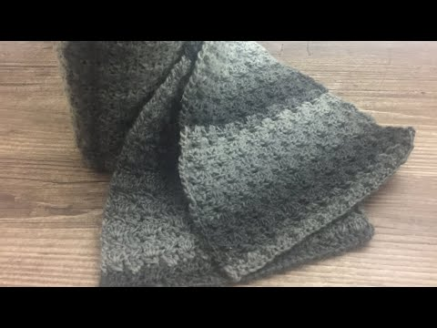 Knitting Patterns Scarves 코바늘 남자목도리뜨기 Crochet Scarf For