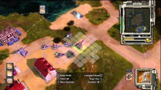 Command&Conquer Red Alert 3: Mega Maps series - Carville