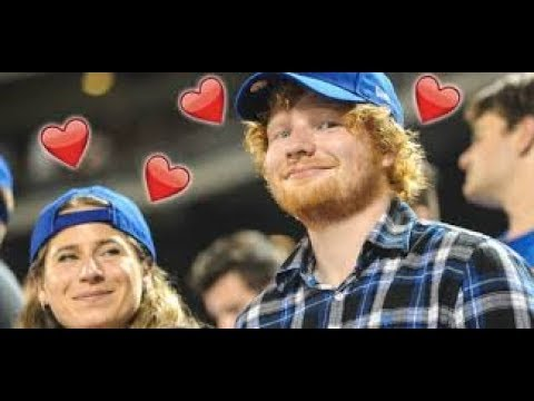 Ed Sheeran With Girlfriend Cherry Seaborn [2017]