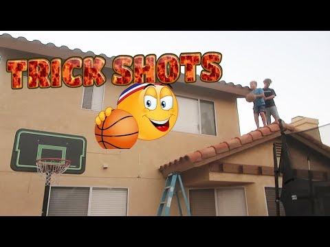 BASKETBALL TRICK SHOTS (KIDS FAILS)