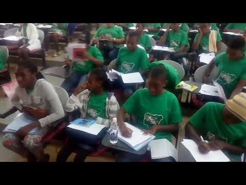 Renewable energy as a solution to climate change - Educating Solar 4 Girls Naija 2017 participants