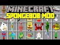 Minecraft Spongebob Squarepants Mod! | Spongebob, Patrick, Squidward, & More